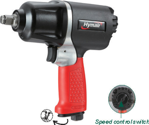 1/2'' Heavy Duty Air Impact Wrench (Twin Hammer) (PAT-106)
